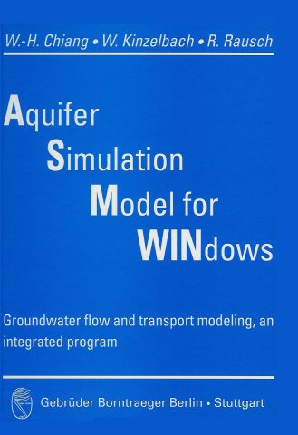 Aquifer Simulation Model - An integrated groundwater flow and transport model package